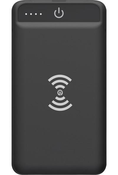 Dexim 8000mAh Kablosuz Taşınabilir Şarj Cihazı (Micro USB/Lightning Giriş)