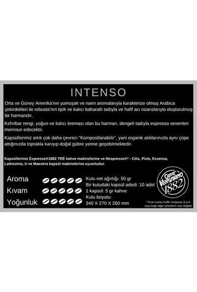 Vergnano Espresso®1882 Intenso Kapsül