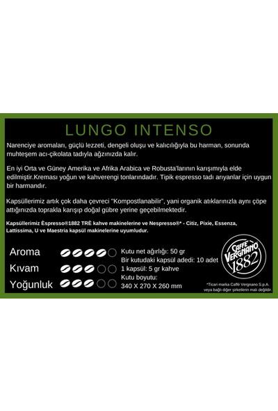 Vergnano Espresso®1882 Lungo Intenso Kapsül
