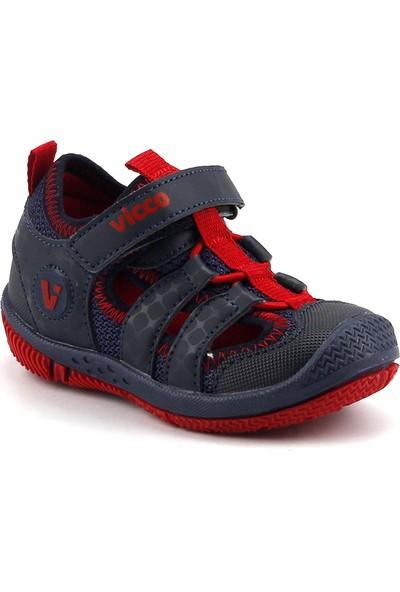 Vicco 332.Z.336 Lacivert Erkek Çocuk Günlük Ortopedik Sandalet Terlik