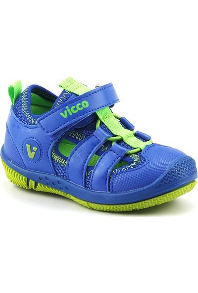 Vicco 332.Z.336 Saks Erkek Çocuk Günlük Ortopedik Sandalet Terlik