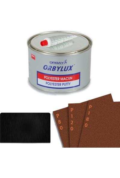 Orbay Orbylux Polyester (Çelik) Macun Seti 500 gr