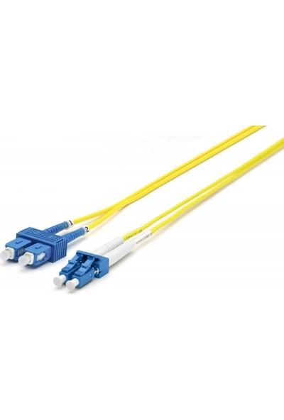 Cabex F/O Sm Sc-Lc Duplex Fiber Optik Patchcord Singlemode 2 Mt