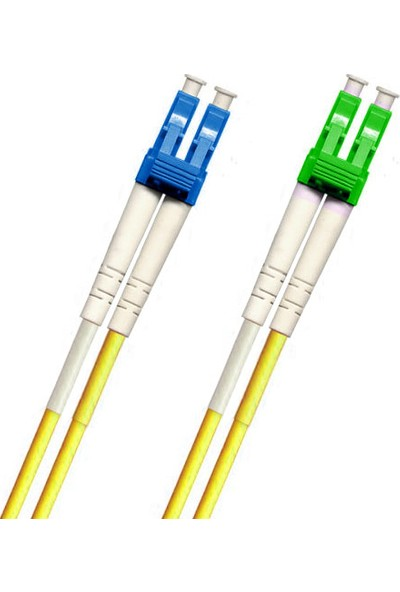Cabex F/O Sm/Apc Lc/Apc-Lc/Upc Duplex Fiber Optik Patchcord Singlemode 2 Mt