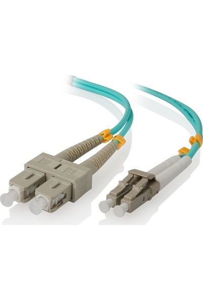 Cabex F/O Om3 Sc-Lc Duplex Fiber Optik Patchcord Multimode 2 Mt