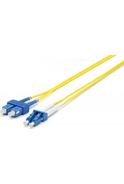 Cabex F/O Sm Sc-Lc Duplex Fiber Optik Patchcord Singlemode 3 Mt