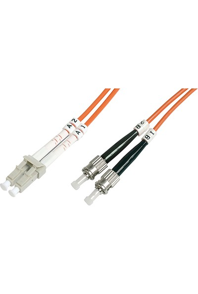 Cabex F/O Mm Sc-Fc Duplex Fiber Optik Patchcord Multimode 3 Mt