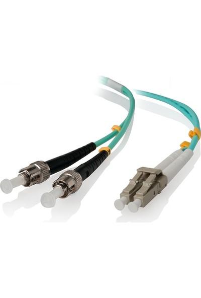 Cabex F/O Om3 Lc-St Duplex Fiber Optik Patchcord Multimode 3 Mt