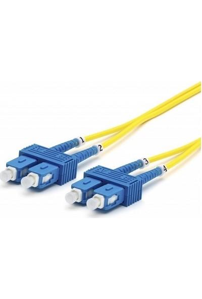 Cabex F/O Sm Sc-Sc Duplex Fiber Optik Patchcord Singlemode 5 Mt
