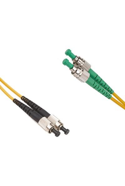 Cabex F/O Sm/Apc Fc/Apc-Fc/Upc Duplex Fiber Optik Patchcord Singlemode 5 Mt