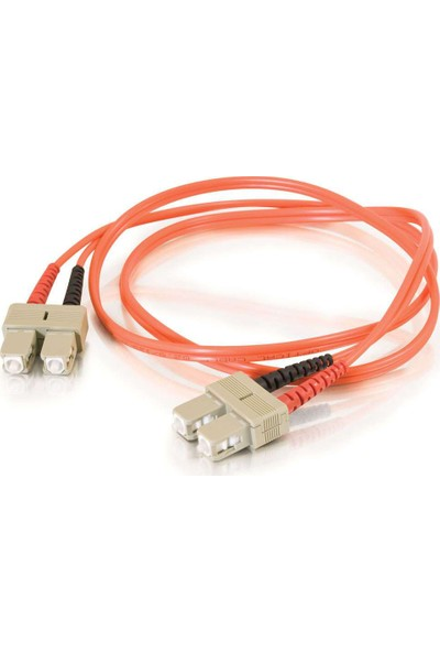 Cabex F/O Mm Sc-Sc Duplex Fiber Optik Patchcord Multimode 5 Mt