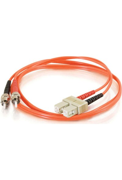 Cabex F/O Mm Sc-St Duplex Fiber Optik Patchcord Multimode 5 Mt