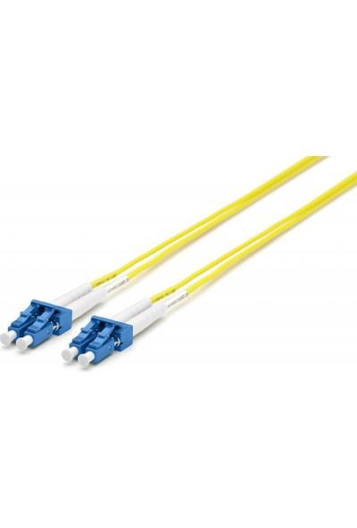 Cabex F/O Sm Lc-Lc Duplex Fiber Optik Patchcord Singlemode 10 Mt