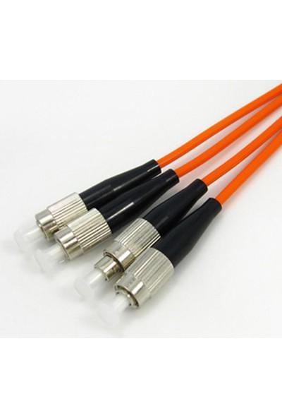 Cabex F/O Mm Fc-Fc Duplex Fiber Optik Patchcord Multimode 10 Mt