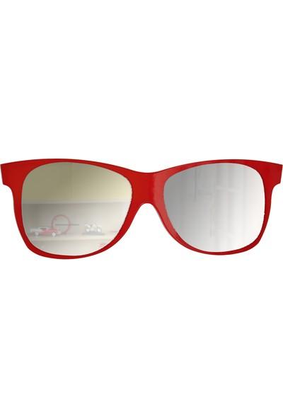 Gibi Design Raymond Kırmızı Gözlük Ayna