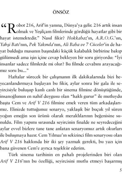 Arif V 216 - Cem Yılmaz