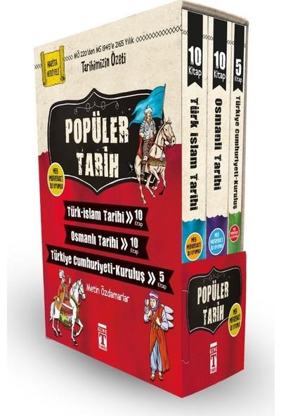 Popüler Tarih Seti (25 Kitap) - Metin Özdamarlar