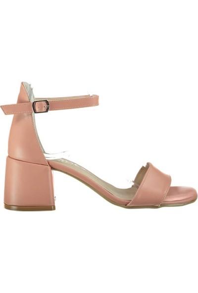 Pembe Potin Alyssa Pudra Kadın Ayakkabı