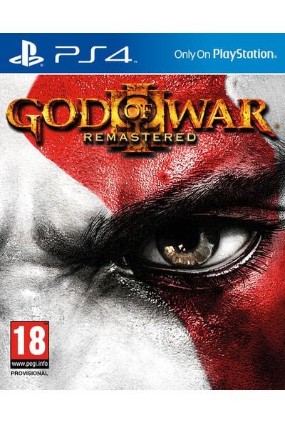 God of War 3: Remastered PS4-Türkçe Menü