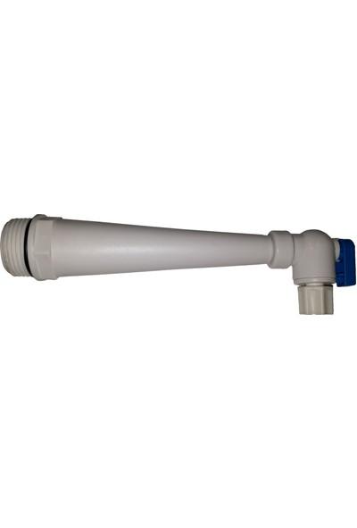 Global Water Solutions RO Tankları - Redüksiyon Adaptörü + Tank Vanası