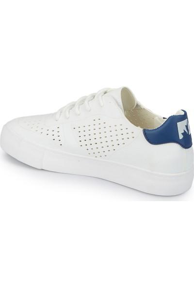 Lumberjack Vıctorıa Beyaz Lacivert Kadın Sneaker