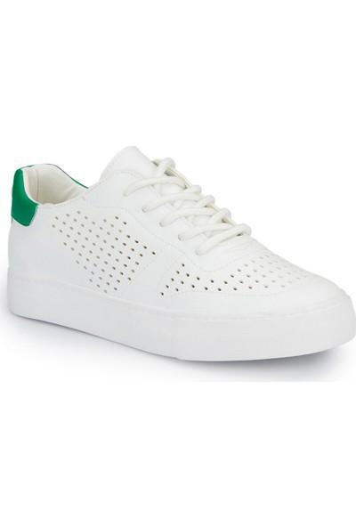 Lumberjack Vıctorıa Beyaz Yeşil Kadın Sneaker