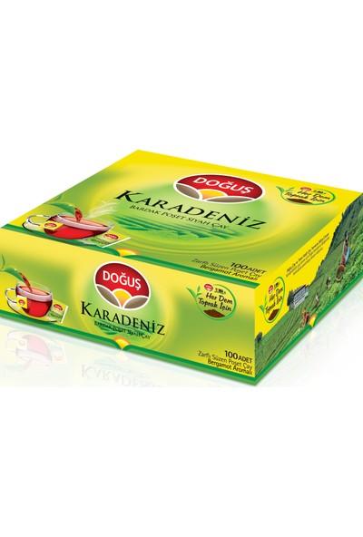 Doğuş Karadeniz Bergamot Aromalı Süzen Poşet Çay 100'lü 200 gr