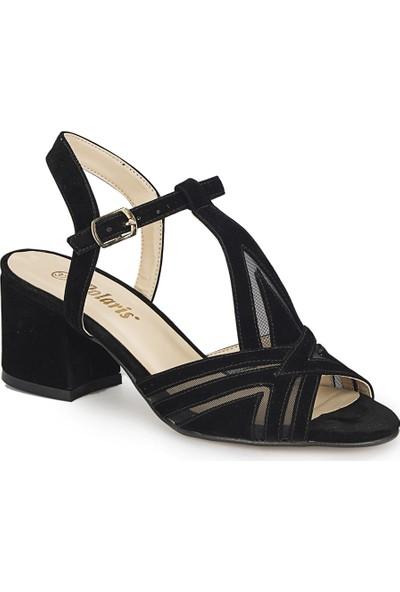 Polaris 81.311267.Z Siyah Kadın Sandalet