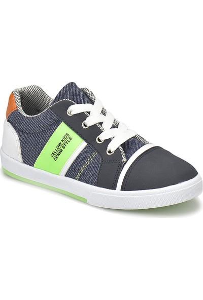 Yellow Kids Yk307.F Lacivert Erkek Çocuk Sneaker Ayakkabı