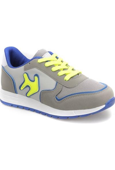 Yellow Kids Yk306.P Gri Erkek Çocuk Athletic Ayakkabı