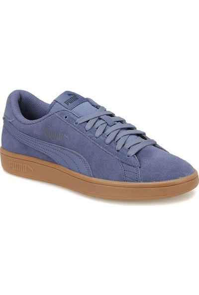 Puma Smash V2 Lacivert Erkek Deri Sneaker Ayakkabı