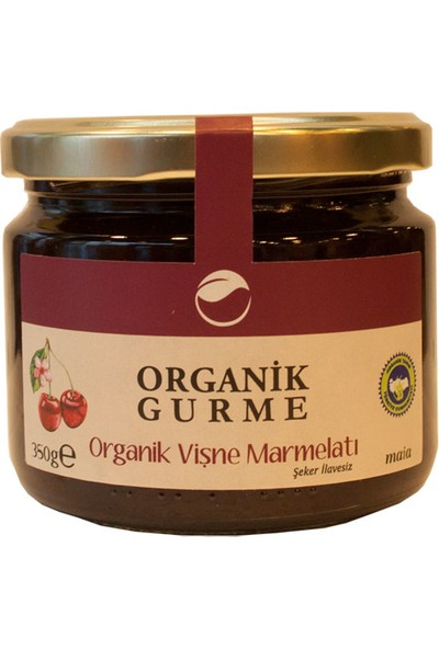 Maia Organik Vişne Marmelatı 350 Gr