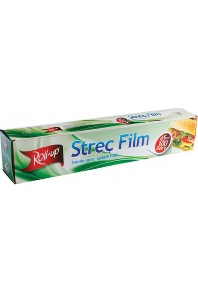 Roll-Up Streç Film Kutulu Roll Up 45 Cm*300 M