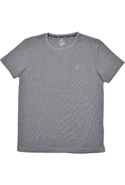 Kinetix Fredy Antrasit Ekru Erkek Tshirt