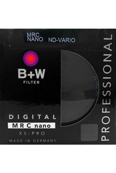 B+W 82mm XS-PRO DİGİTAL ND VARİO MRC NANO FİLTRE