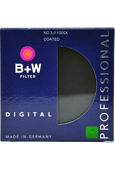 B+W 49mm 110E ND3.0 NEUTRAL DENSITY 1000X ND FİLTRE