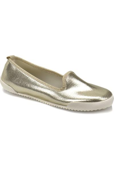 Art Bella Cs18091 Altın Kadın Slip On Ayakkabı