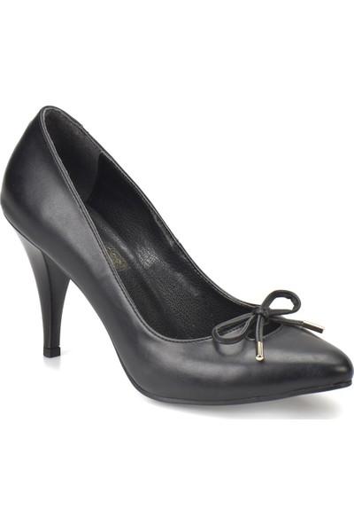 Butigo 18S-221 Siyah Kadın Topuklu Ayakkabı