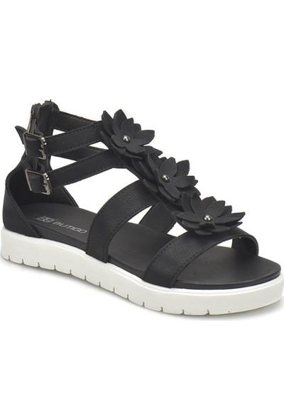 Butigo 18S-222 Siyah Kadın Sandalet