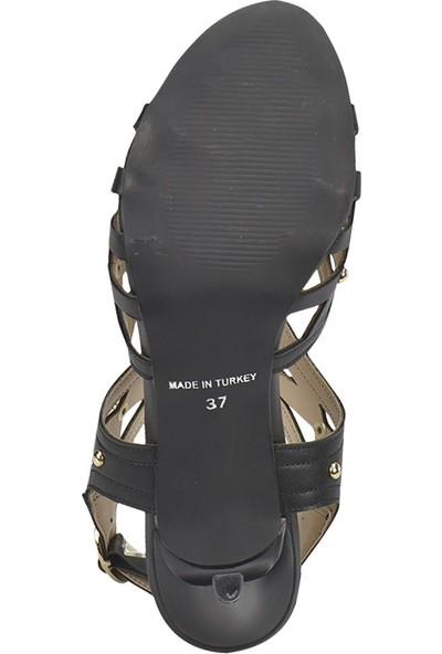 Butigo 18S-243 Siyah Kadın Sandalet