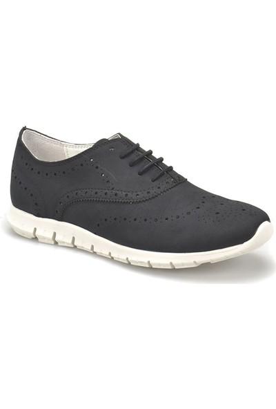 Butigo Cs18048 Siyah Kadın Maskulen Ayakkabı