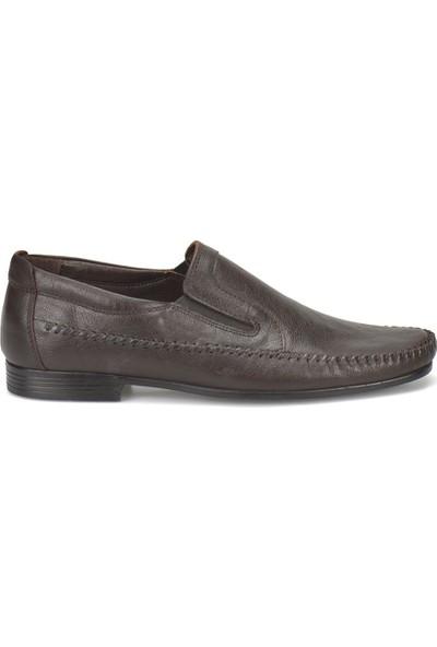 Flogart 120 M 1366 Kahverengi Erkek Deri Ayakkabı