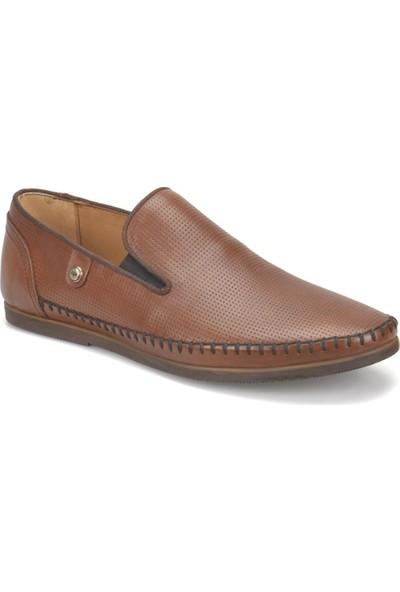 Flogart 2099 M 1366 Taba Erkek Deri Klasik Günlük Ayakkabı