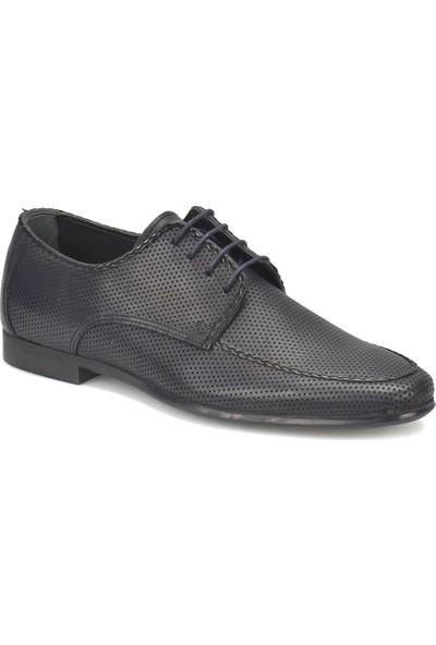 Garamond 318 Lacivert Erkek Deri Ayakkabı