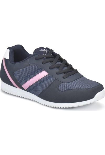 Kinetix Slam W Lacivert Pembe Kadın Sneaker