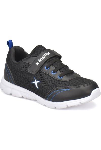 Kinetix Yannı Siyah Saks Erkek Çocuk Koşu Ayakkabısı