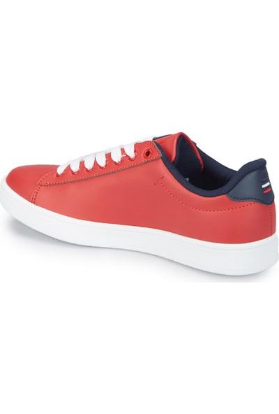U.S. Polo Assn. Franco Kırmızı Kadın Sneaker