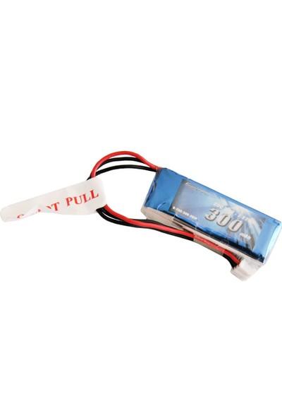 GENS ACE - 300mAh 7.4V 25C 2S1P LiPo Batarya