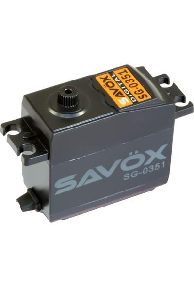 SAVOX - SG-0351 DC Motor Kompozit Dişli Dijital Servo
