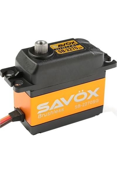 SAVOX - SB-2270SG Yüksek Voltaj 7.4V Fırçasız Servo